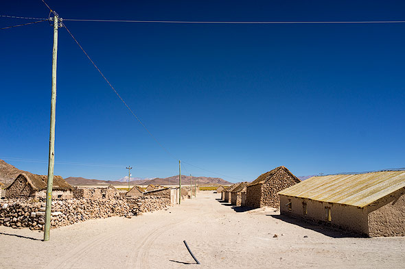 A typical bolivian village compared...
