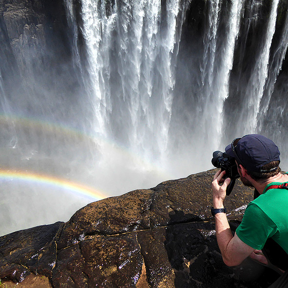 Vicfalls are a dream for every Photographer